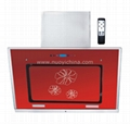HOT!touch screen range hood with remote