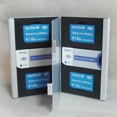 Aluminum Memory Card Holder Case Memory stick card sd card case