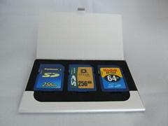 Aluminum Memory Card Holder Case SD CARD CASE BOX