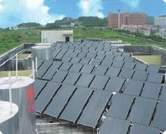 太阳能配热泵热水系统