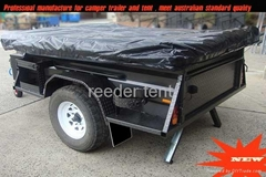 2012 new heavy duty camper trailer with tent