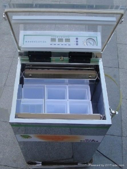 成都液晶版單室真空包裝機 4