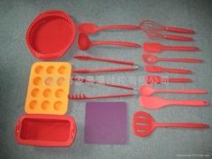 硅胶餐具系列