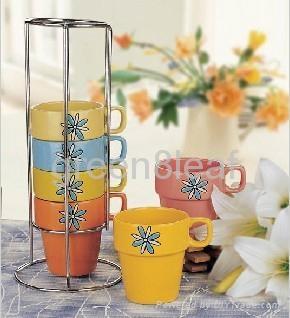Ceramic Mug set 4