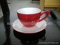 Red China Tea set 5