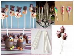 "Sell 6"" food grade paper lollipop sticks"