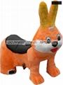 毛绒玩具车 2