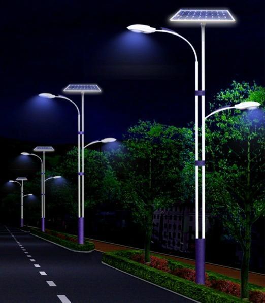 Solar street light solar outdoor lighting clsf 040w for Landscape lighting supply