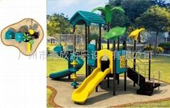 奇欣QX-11010A戶外大型儿童組合塑料滑梯