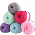 Milk Cotton Blended Yarn