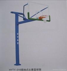 地埋式比赛篮球架