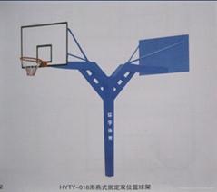 海燕式固定雙位籃球架