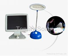 Solar Mini LED Desktop Lamp