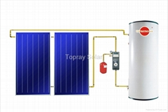 300L 太阳能热水器系统