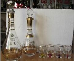 厦门酒瓶 白/红酒 洋酒瓶 小酒瓶 工艺