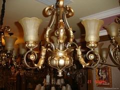 European-style lamp