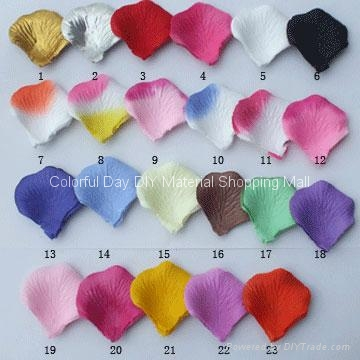Wholesale Silk Rose Petals As Wedding Decoration Accessories - DIY
