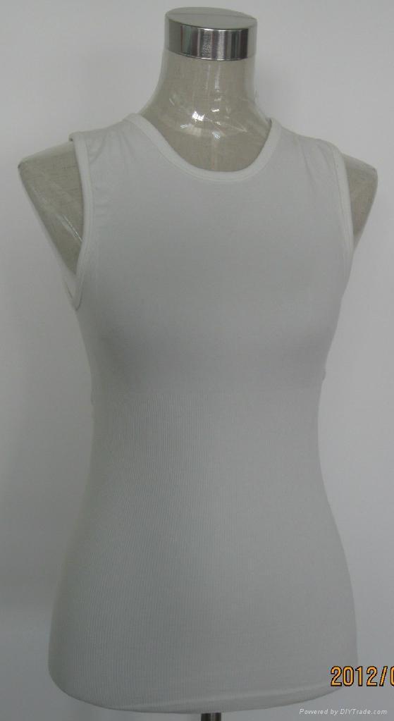 women seamless yoga suspender vest  3