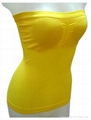 women seamless yoga suspender vest  4