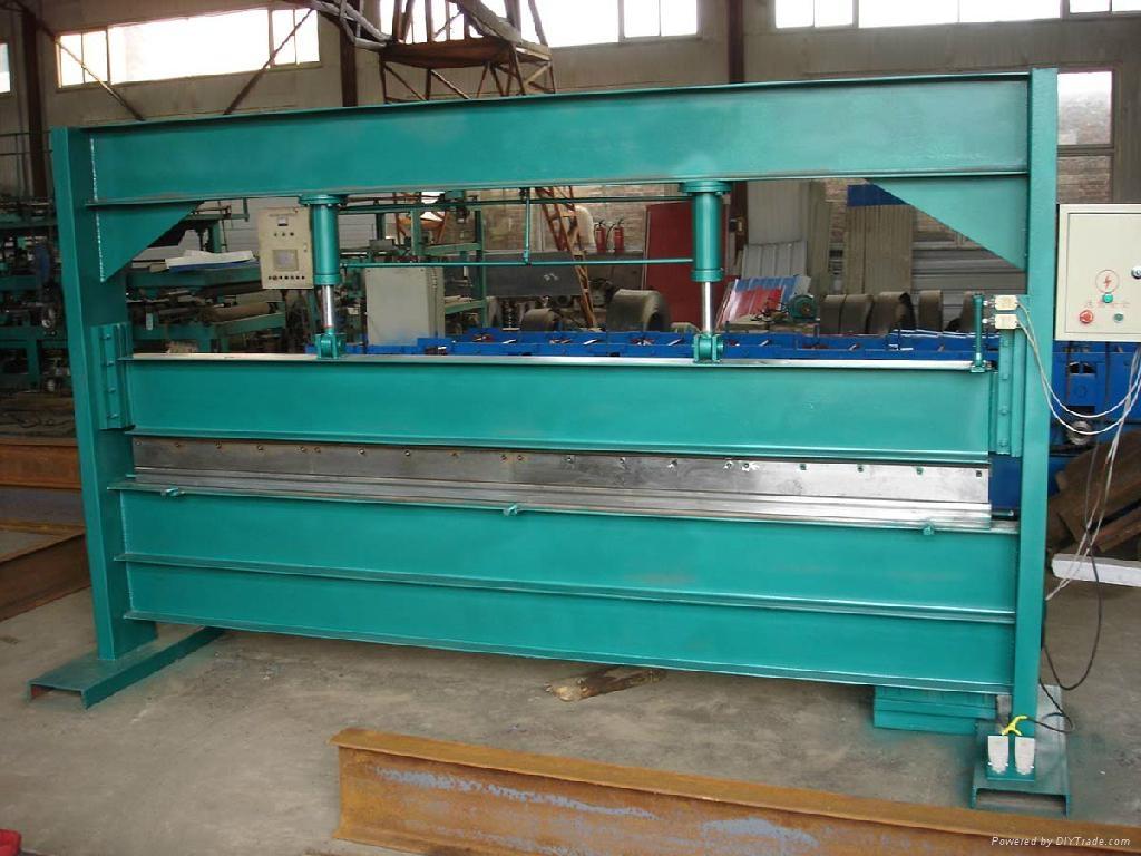 壓瓦機彩鋼復合板 1