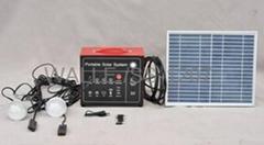 Portable Solar System2pcs LED lamp10W