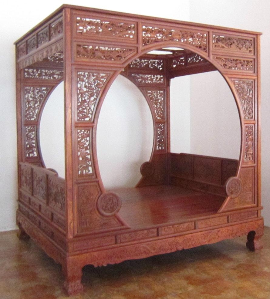 Canopy Bed Chinese Classical Furniture China Living Room Furniture Furniture Products