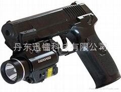 LED燈+激光瞄準鏡