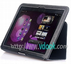 Genuine Leather Sleeve Case for Samsung Galaxy Tab P1000