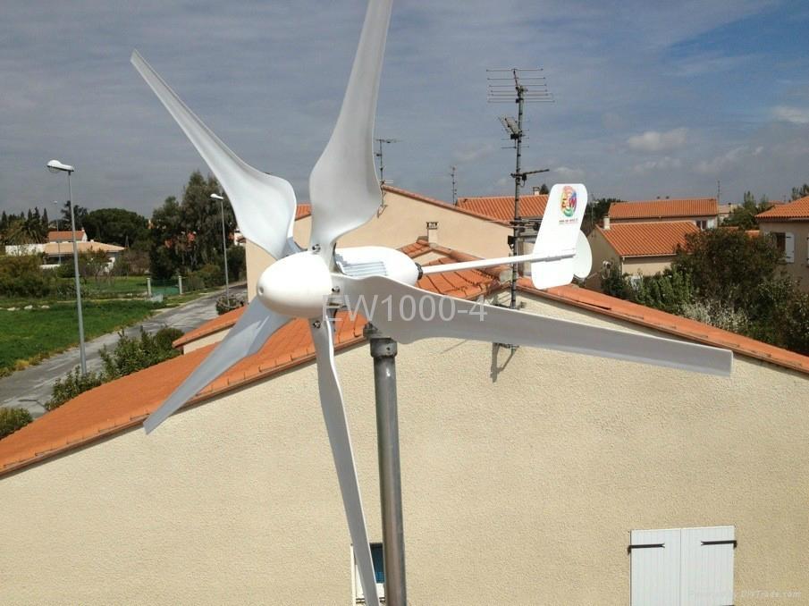 shenzhou EW1000W permenent magnet wind generator system 4