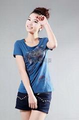 潮流女装短袖T恤8542#