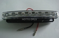 D80 8*0.1w led FLASH LED PLASTIC DRL TURN OFF STYLE
