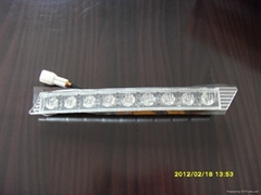 D105 18LED PLASTIC STYLE WITH OPOTION TURNING LIGHT