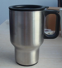 Stainless steel travel mug, sublimation coated