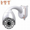 Neweat PTZ High Speed Dome IP Camera can can be widely used