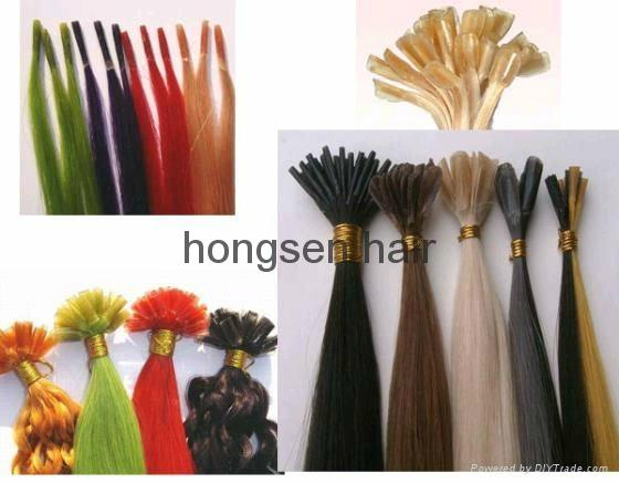 pre-bonded hair extension,fusion hair extenson 1