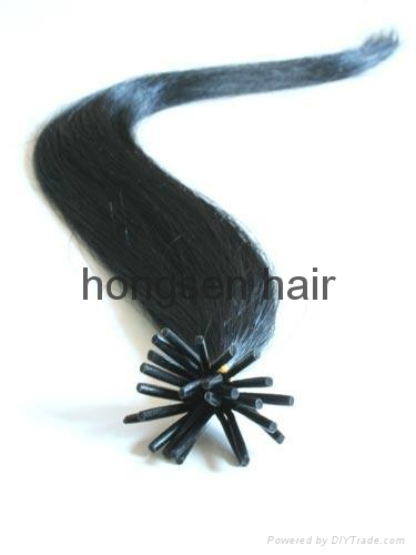 pre-bonded hair extension,fusion hair extenson 4