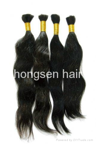 virgin remy human hair bulk 2