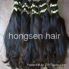 virgin remy human hair bulk 4