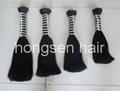 double drawn remy hair bulk 4
