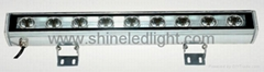 9W LED wall washer light