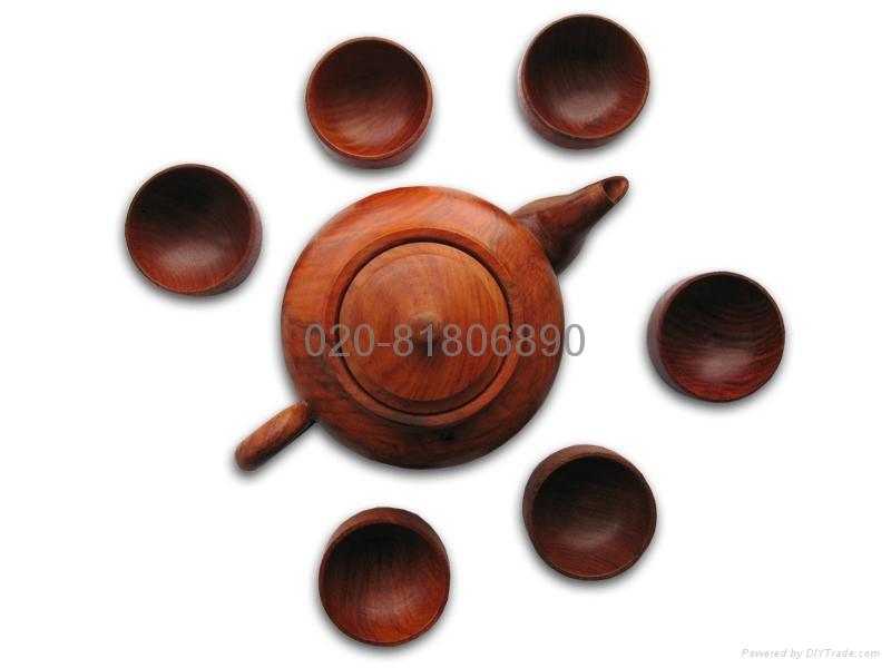 红木茶具系列