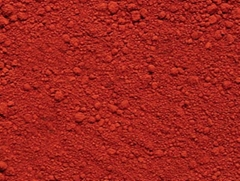 Iron oxide use to dying rubber paint plastic