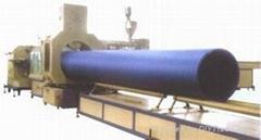 大口徑中空臂纏繞管生產線
