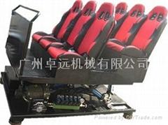 4D液压座椅平台