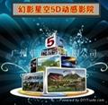 火热畅销 5D-BOX电影体验厅 5D动感液压座椅 4