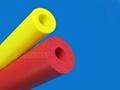 Silicone foam tube