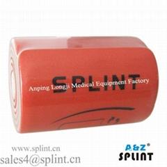 Medical polymer splint   Root splinter forceps