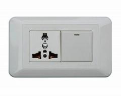Multifunction switch socket