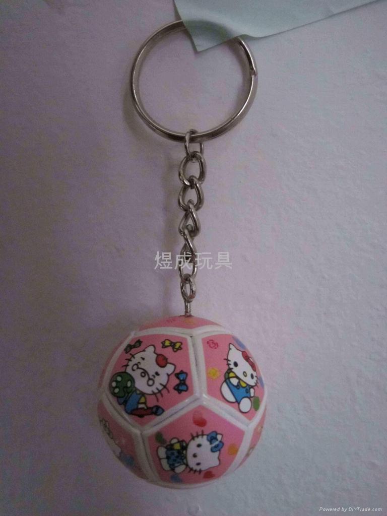 足球鑰匙扣 卡通 1