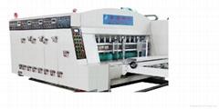 高速水墨印刷開槽模切機